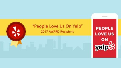 SunWork Wins Yelp Award