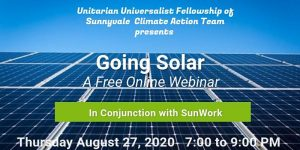 Going Solar Webinar! @ Online Event